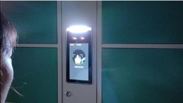 会议室手机充电柜,手机保管信号屏蔽柜,人脸识别手机寄存柜